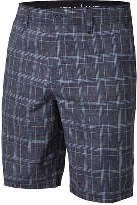 """O'Neill Men's Exec Plaid Hybrid 21"""" Shorts $45 thestylecure.com"""