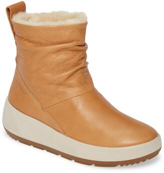 Ecco Ukiuk 2.0 Genuine Shearling Boot