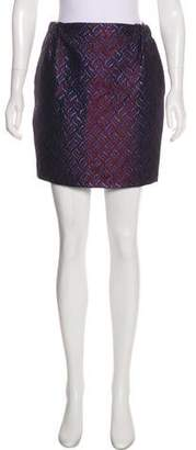 Golden Goose Brocade Mini Skirt