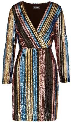 Sam Edelman Stripe Sequin Dress