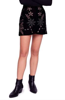 Free People Bright Lights Miniskirt