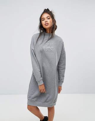 Calvin Klein Jeans Polo Neck Dress