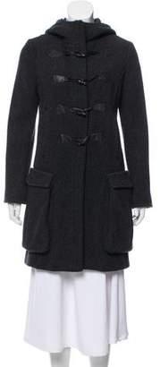 Rag & Bone Knee-Length Hooded Coat