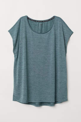 H&M H&M+ Sports Top - Turquoise