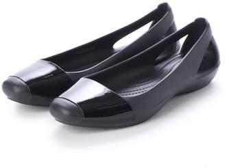 Crocs (クロックス) - クロックス crocs 203301 SIENNA SHINY FLAT シエナ フラットパンプス