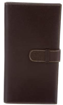 Jacob & co Vertical Leather Wallet