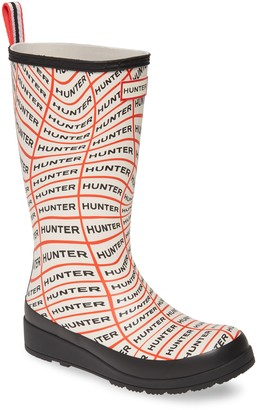Hunter Play Tall Waterproof Rain Boot