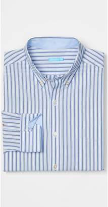 J.Mclaughlin Carnegie Classic Fit Shirt in Stripe