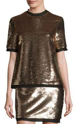 Rachel Zoe Flynn Sequin Top