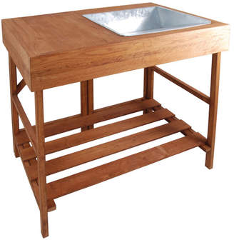 EsschertDesign Wood Potting Bench