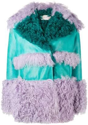 Emilio Pucci concealed fastening boxy coat
