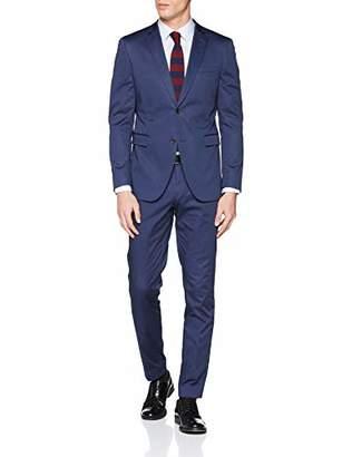 Esprit Men's 029eo2m003 Suit Blue 4, (Size: 90)