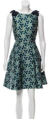 Ted Baker Printed Cocktail Dress