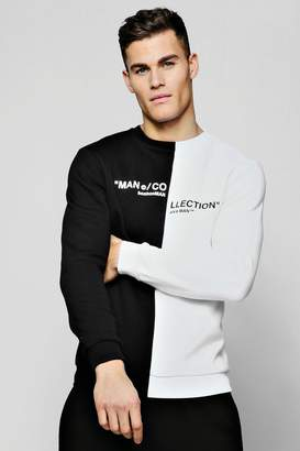 boohoo MAN Collection Spiced Sweater
