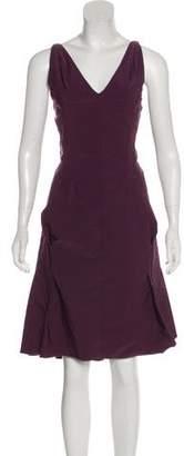 Nina Ricci Sleeveless Midi Dress