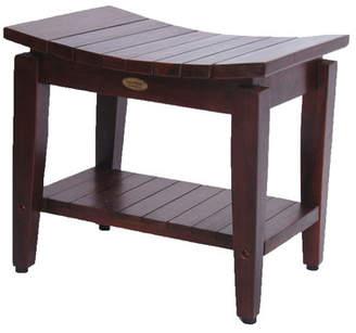 Decoteak Sojourn Asia Furniture Contemporary Teak Asia Shower Seat