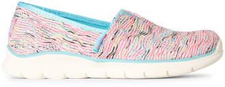 Skechers Lil Bobs (Kids Girls) Pureflex 3 Wavy Dreamer Slip-On Shoes