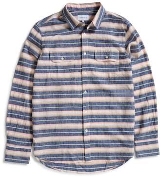 Penfield Hammat Indigo Stripe Shirt Navy