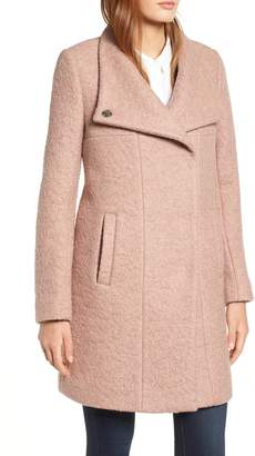 Kenneth Cole New York Pressed Boucle Coat