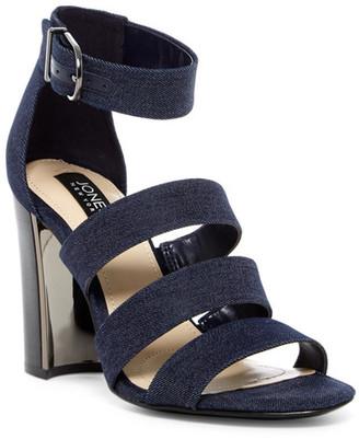 Jones New York Jesse Block Heel Sandal $119 thestylecure.com