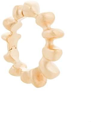 Maison Rabih Kayrouz brushed cuff bracelet