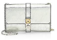 Proenza Schouler Women's Metallic Leather Chain Shoulder Bag