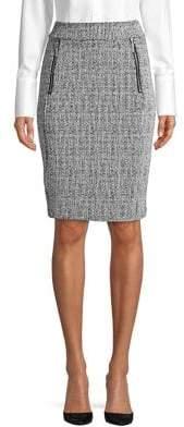 MICHAEL Michael Kors Textured Pencil Skirt
