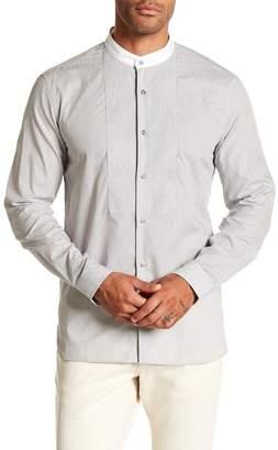 John Varvatos Collection Pinstripe Trim Fit Shirt