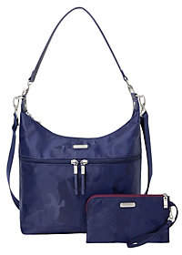 Baggallini Convertible Large Hobo with Wristlet