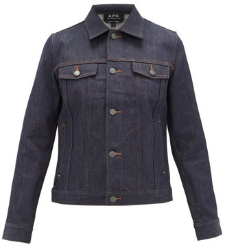 A.P.C. Brandy Denim Jacket - Womens - Indigo