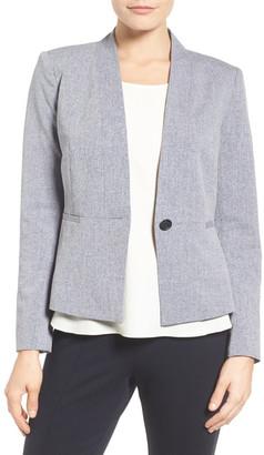 Halogen Graphite Stretch Suit Jacket (Petite) $139 thestylecure.com