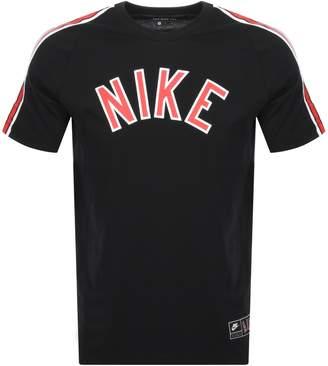 Nike Logo T Shirt Black