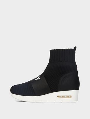 DKNY Anna Slip-On Wedge Sneaker