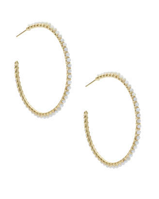 Kendra Scott Birdie Gold Hoop Earrings