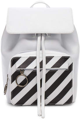 Off-White Off White Mini Diagonal Backpack