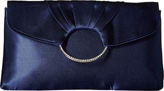 Jessica McClintock Scarlette Pleated Ring Clutch