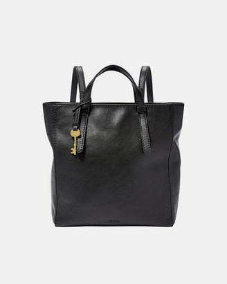 Fossil Camilla Black Backpack