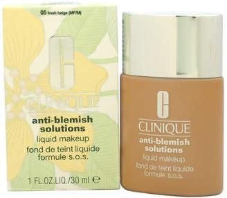 Clinique Women's 1Oz #05 Fresh Beige Anti-Blemish Solutions Liquid Makeup