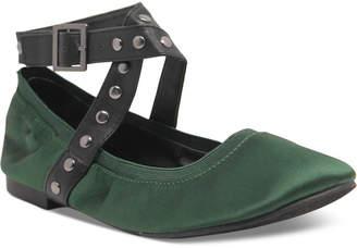 Charles by Charles David Dean Velvet Studded Flats Women Shoes