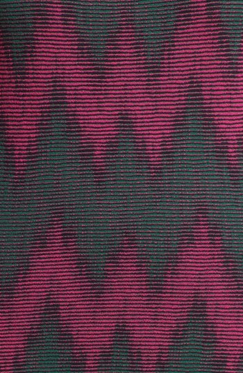 M Missoni Sleeveless Two Tone Zigzag Knit Dress