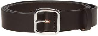 Comme des Garcons Plain Leather Belt