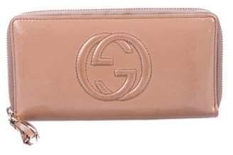Gucci Soho Zip-Around Wallet Beige Soho Zip-Around Wallet