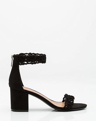 Le Château Scalloped Ankle Strap Sandal