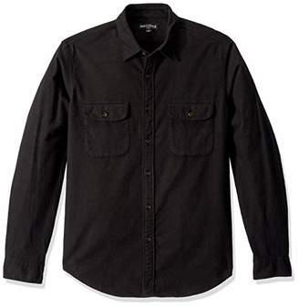 J.Crew Mercantile Men's Long-Sleeve Elbow Patch Shirt