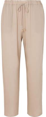 Hanro Voile Pajama Pants - Beige