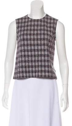 Victoria Beckham Sleeveless Crew Neck Top