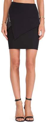 Cut25 Cut 25 Asymmetrical Paneled Skirt