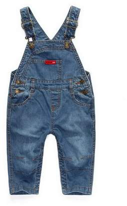 Acme Little Kids Denim Dungarees Children Stone Wash Jeans Toddler Infant Overalls Trousers Jumpsuit?
