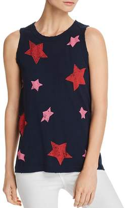 Current/Elliott The Easy Star Print Muscle Tank