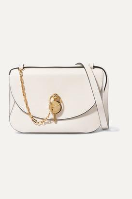 J.W.Anderson Keyts Large Leather Shoulder Bag - Off-white